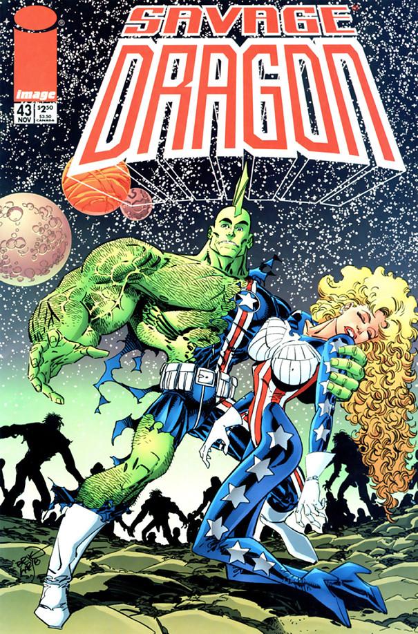 Couverture de Savage Dragon Vol.2 (The) (Image comics - 1993) -43- Issue #43