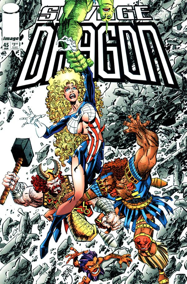 Couverture de Savage Dragon Vol.2 (The) (Image comics - 1993) -45- Issue #45