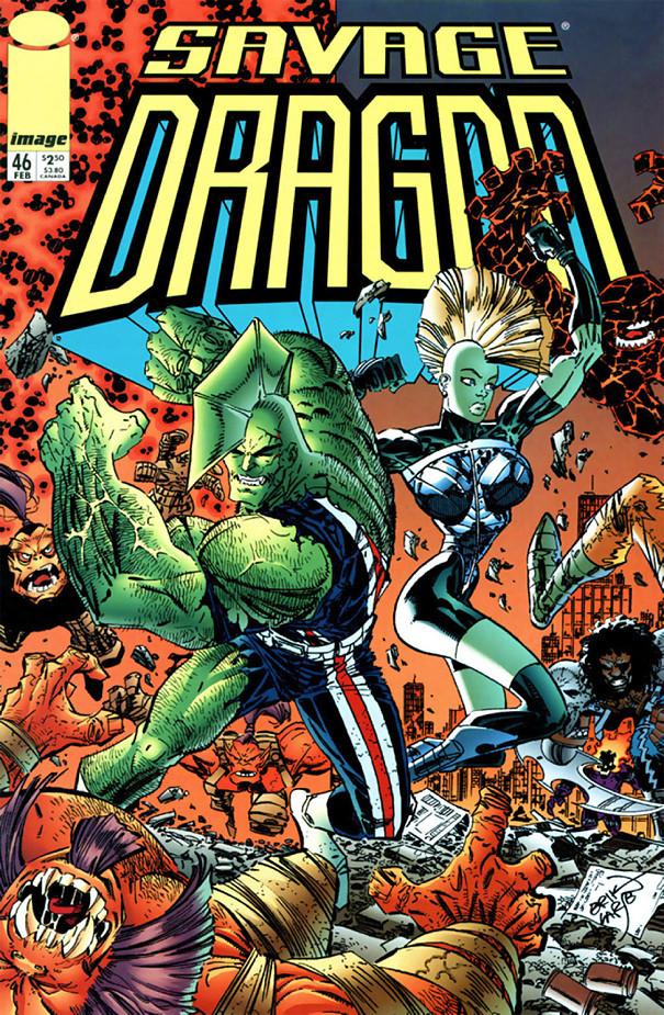 Couverture de Savage Dragon Vol.2 (The) (Image comics - 1993) -46- Issue #46