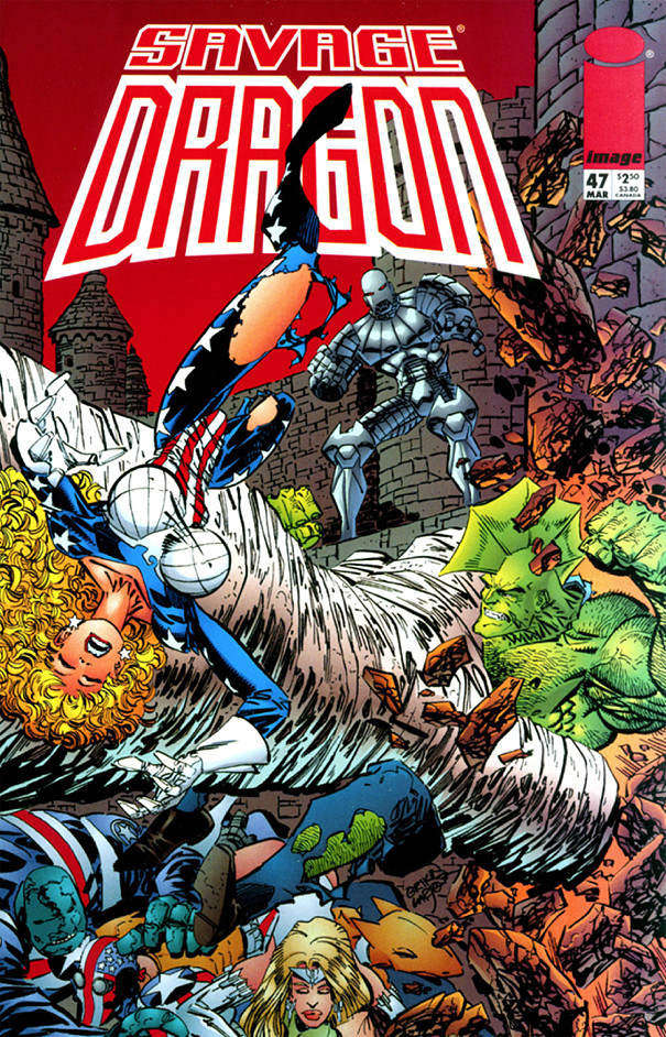 Couverture de Savage Dragon Vol.2 (The) (Image comics - 1993) -47- Issue #47