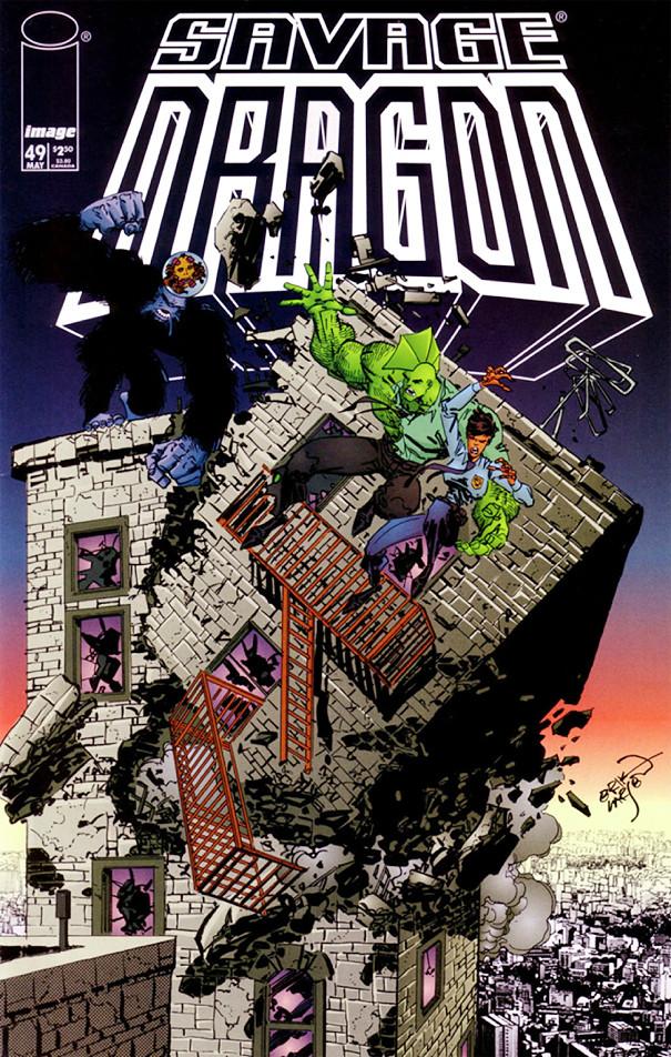 Couverture de Savage Dragon Vol.2 (The) (Image comics - 1993) -49- Unfinished Business - Part 2 of 3