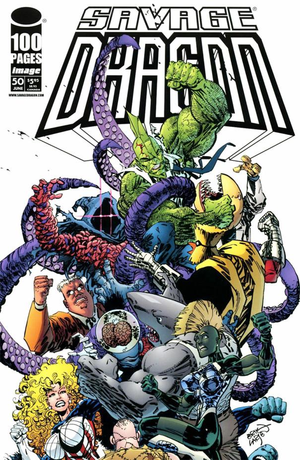 Couverture de Savage Dragon Vol.2 (The) (Image comics - 1993) -50- Unfinished Business - Part 3 of 3