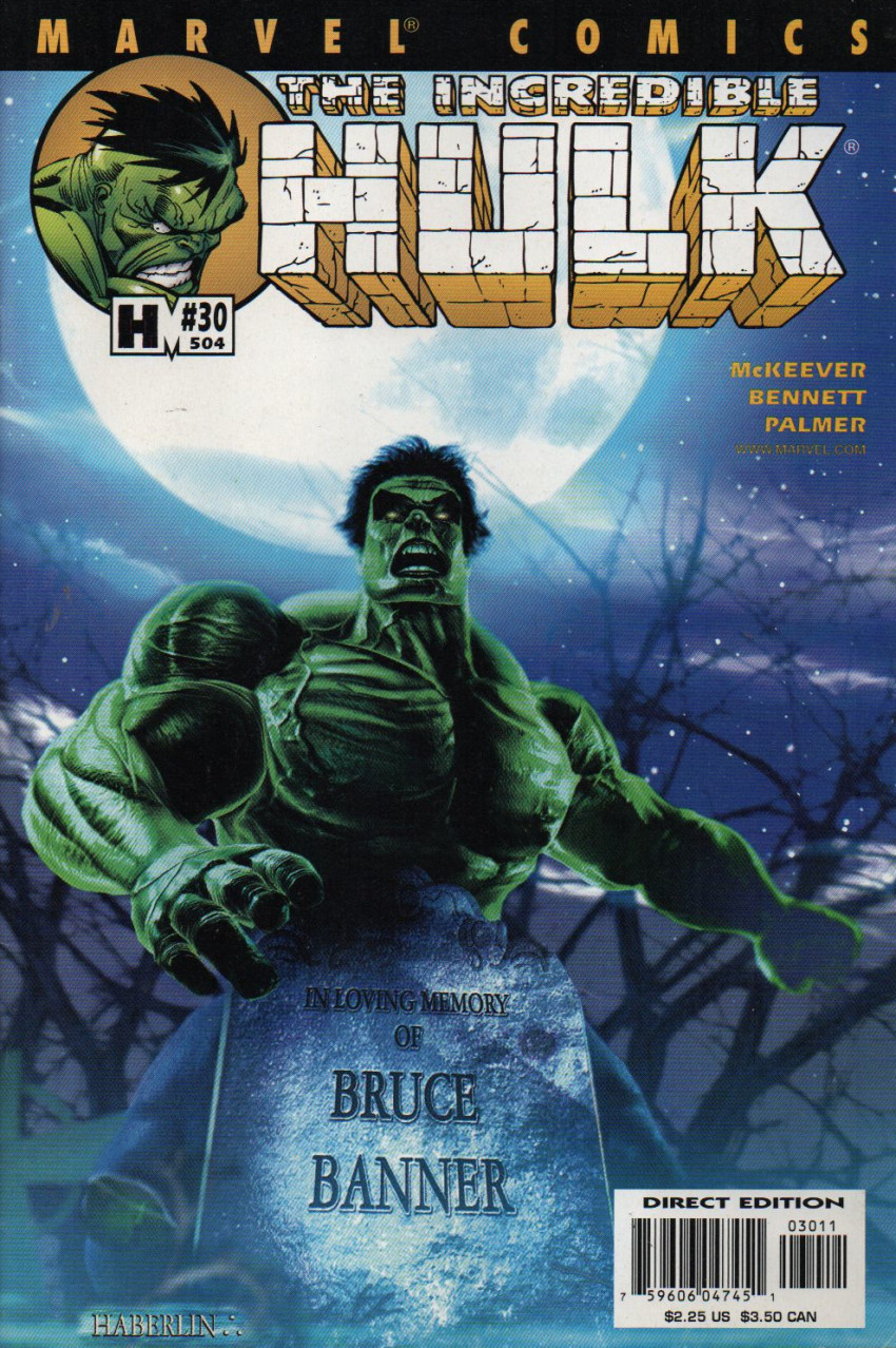 Couverture de Incredible Hulk (The) (Marvel comics - 2000) -30504- Spiral Staircase-Part 1