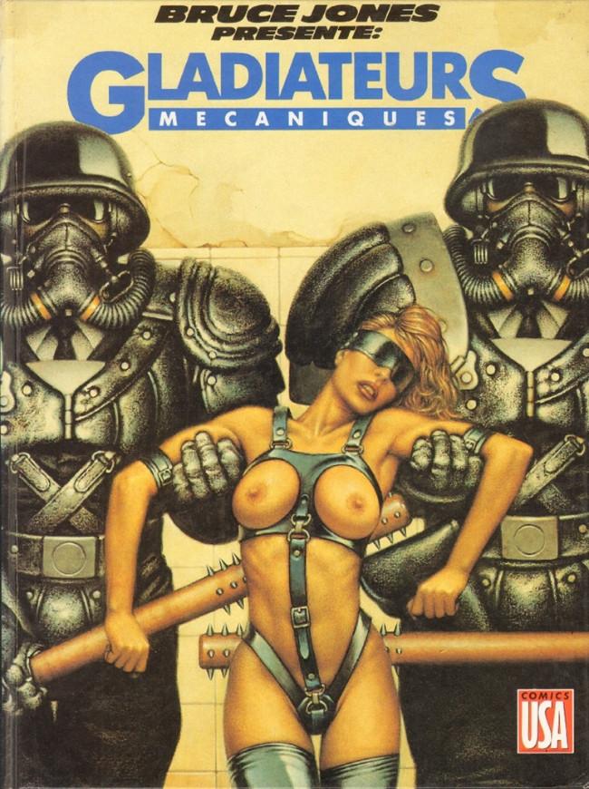 Couverture de Bruce Jones présente -5- Gladiateurs mécaniques