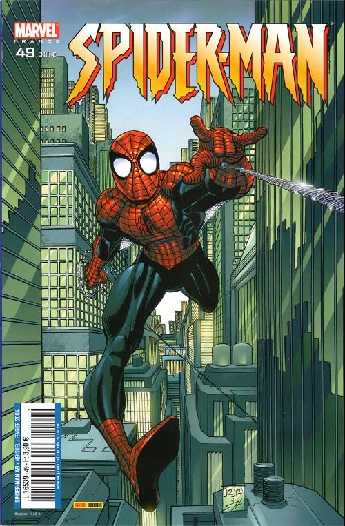 Couverture de Spider-Man (Marvel France 2e série - 2000) -49- Mémoires d'outre-tombe