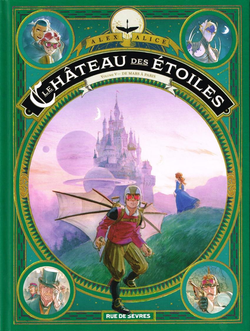 Couverture de Le château des étoiles -INT5- De Mars à Paris