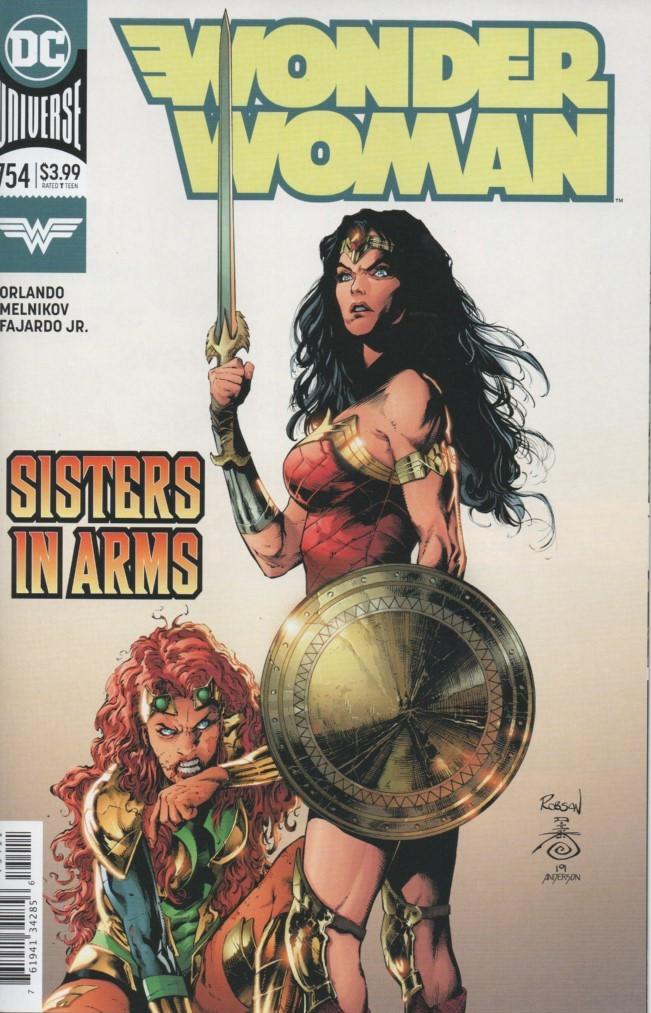 Couverture de Wonder Woman Vol.1 (DC Comics - 1942) -754- The Truth Usurps