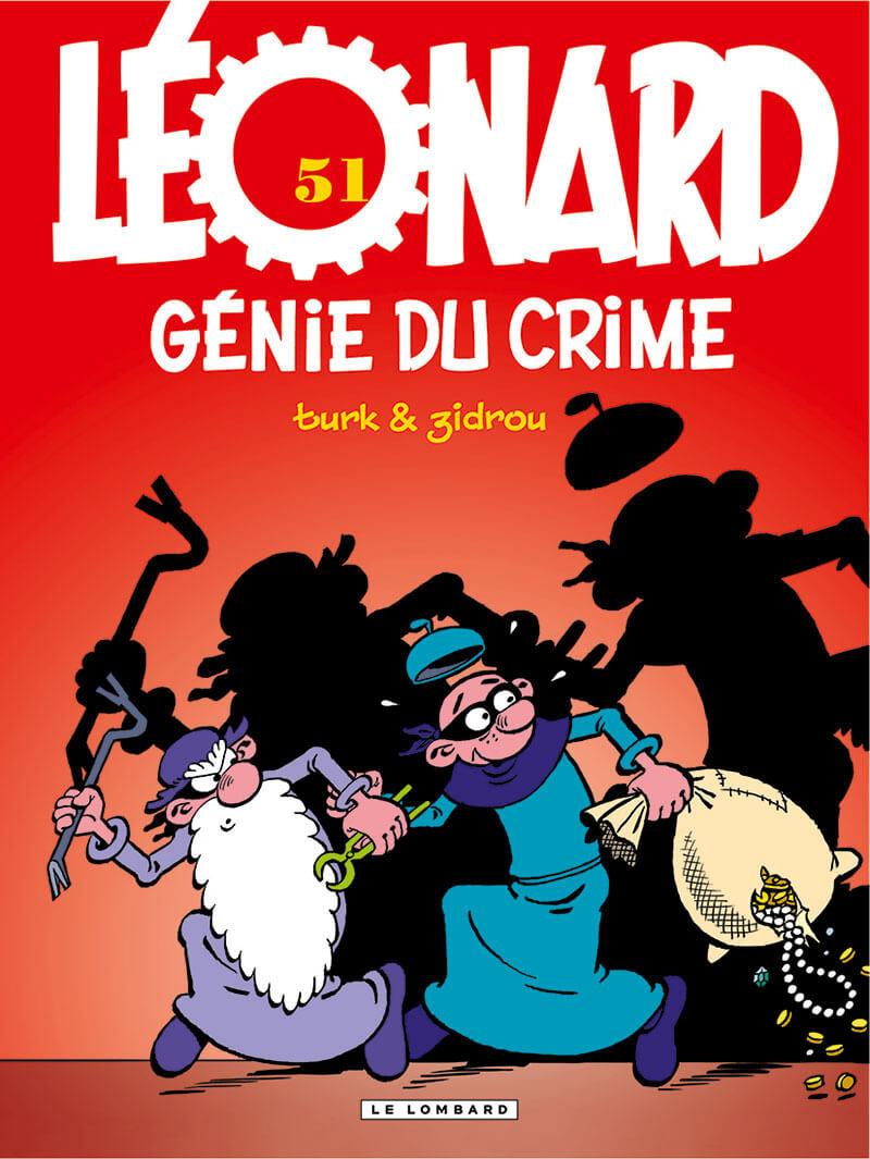Couverture de Léonard -51- Génie du crime