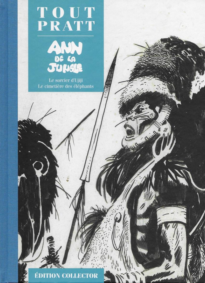 Couverture de Tout Pratt (collection Altaya) -33- Ann de la Jungle
