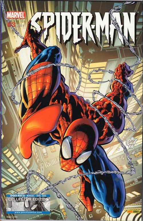Couverture de Spider-Man (Marvel France 2e série - 2000) -63Col- Passé recomposé