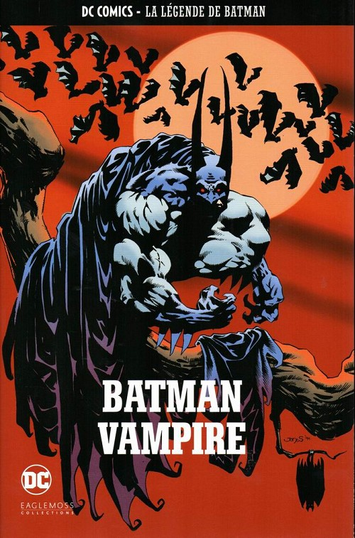 Couverture de DC Comics - La légende de Batman -HS11- Batman vampire
