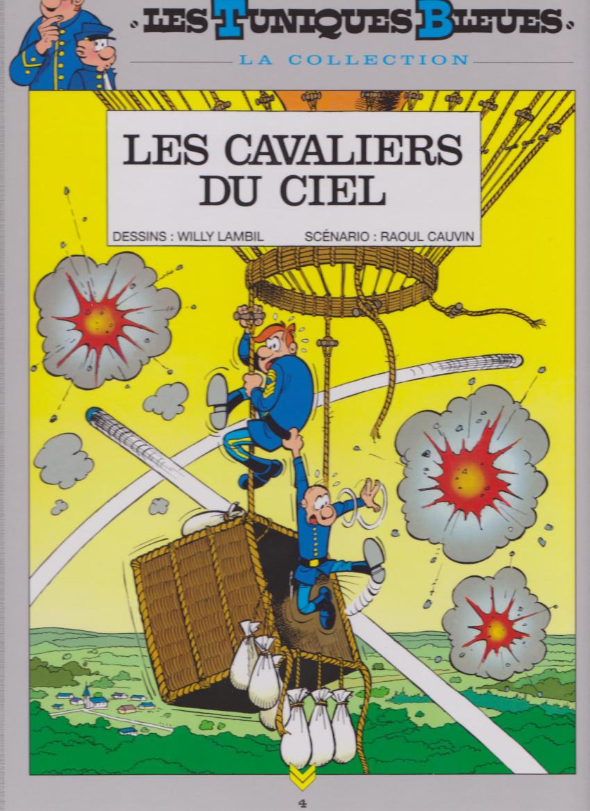 Couverture de Les tuniques Bleues - La Collection (Hachette, 2e série) -408- Les cavaliers du ciel