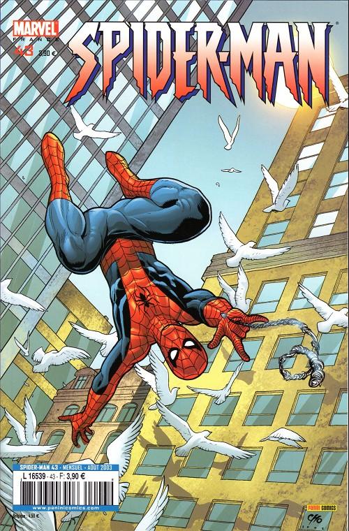 Couverture de Spider-Man (Marvel France 2e série - 2000) -43- A la vie, à la mort