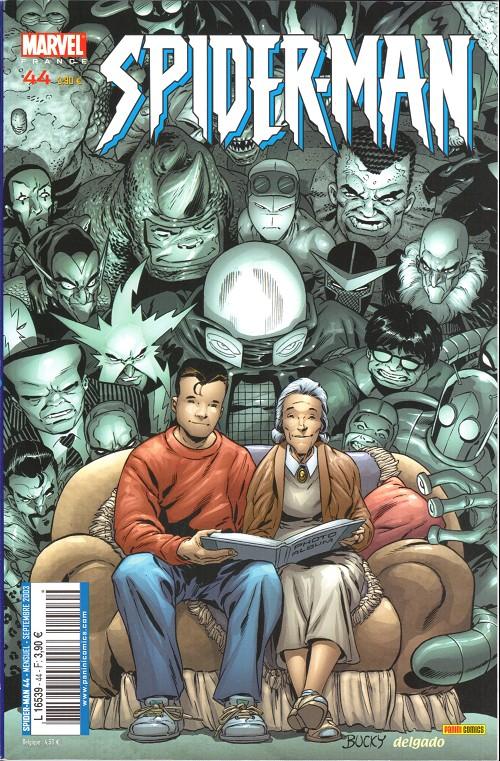 Couverture de Spider-Man (Marvel France 2e série - 2000) -44- Une histoire d'araignée