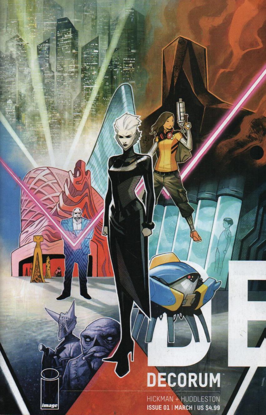 Couverture de Decorum (Image Comics - 2020) -1- Issue # 1