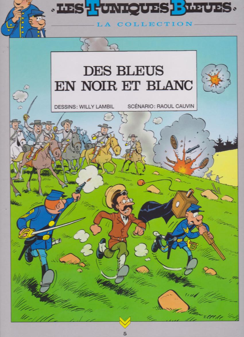 Couverture de Les tuniques Bleues - La Collection (Hachette, 2e série) -511- Des bleus en noir et blanc