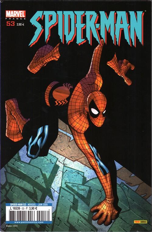 Couverture de Spider-Man (Marvel France 2e série - 2000) -53- Joyeux anniversaire