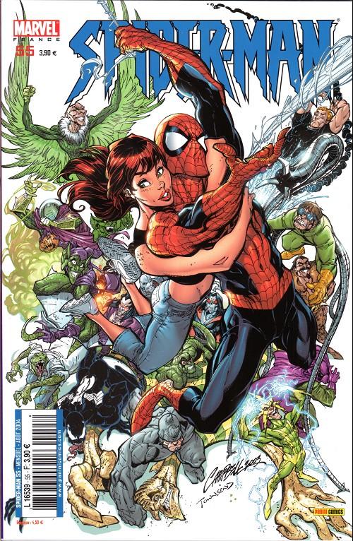 Couverture de Spider-Man (Marvel France 2e série - 2000) -55- Compte à rebours