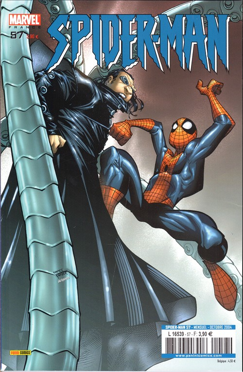 Couverture de Spider-Man (Marvel France 2e série - 2000) -57- Le cobaye