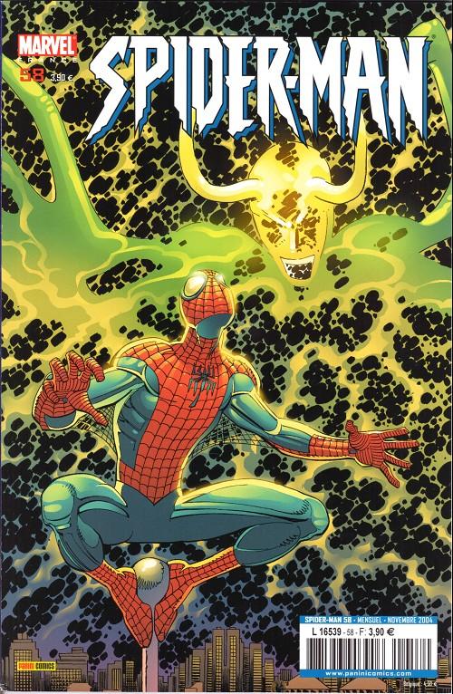 Couverture de Spider-Man (Marvel France 2e série - 2000) -58- A la poursuite d'une ombre