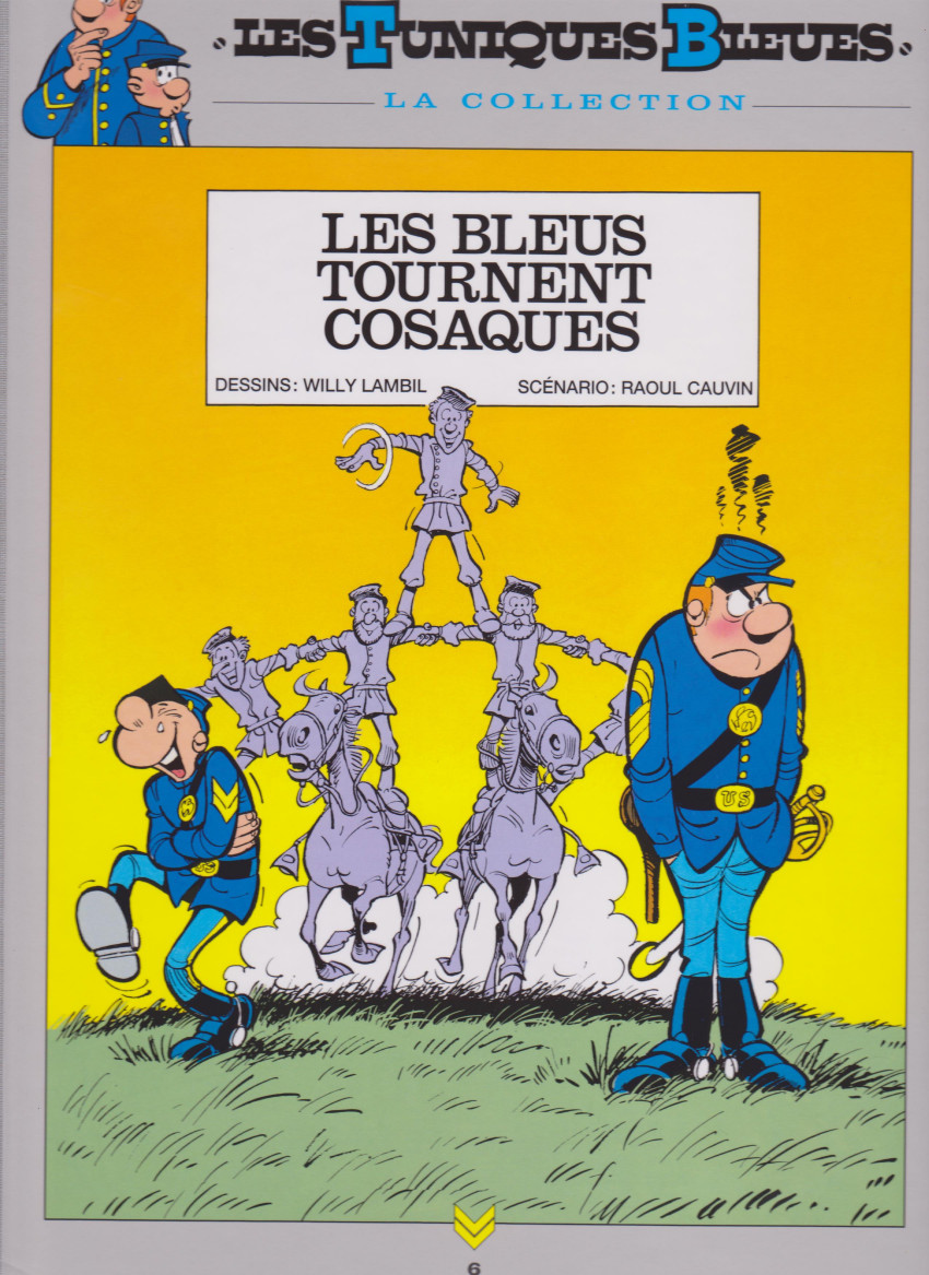 Couverture de Les tuniques Bleues - La Collection (Hachette, 2e série) -612- Les bleus tournent cosaques