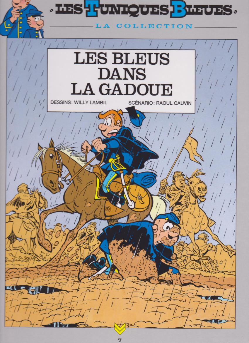 Couverture de Les tuniques Bleues - La Collection (Hachette, 2e série) -713- Les bleus dans la gadoue