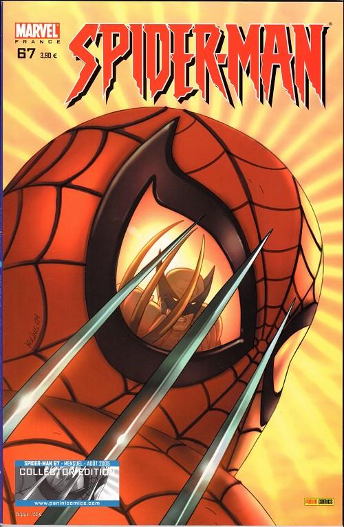 Couverture de Spider-Man (Marvel France 2e série - 2000) -67Col- Un garçon en or (2)
