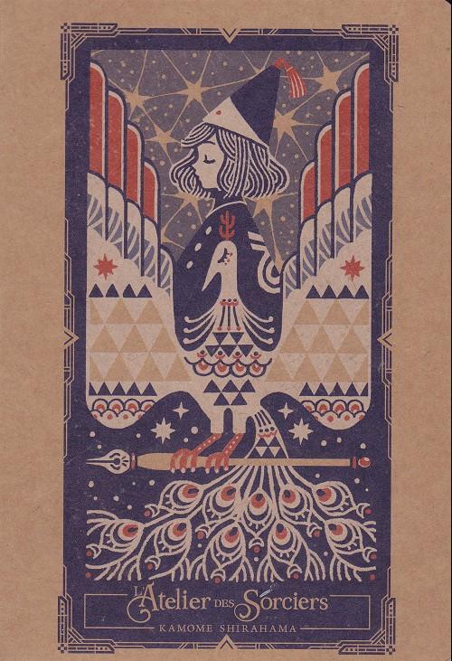 Couverture de L'atelier des sorciers -HS- Carnet de croquis