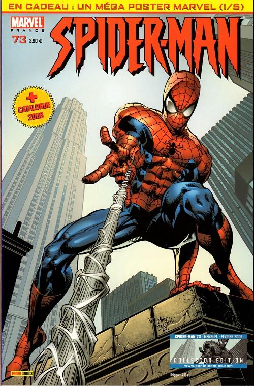 Couverture de Spider-Man (Marvel France 2e série - 2000) -73Col- Un américain pur jus (1)