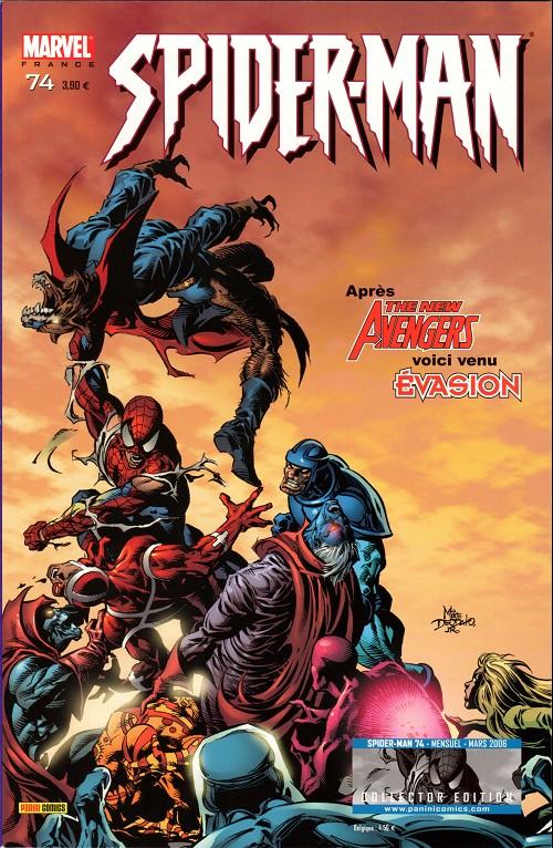 Couverture de Spider-Man (Marvel France 2e série - 2000) -74Col- Un américain pur jus (2)