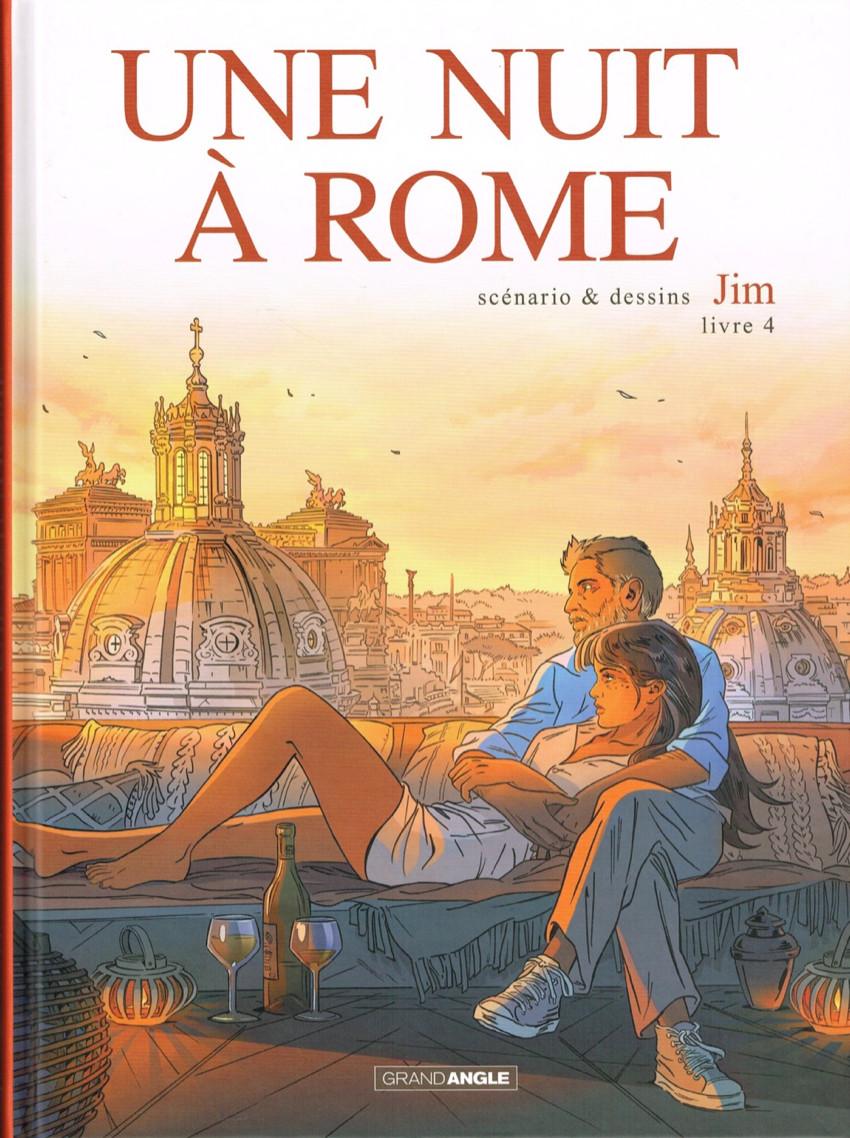 Couverture de Une nuit à Rome -4- Livre 4