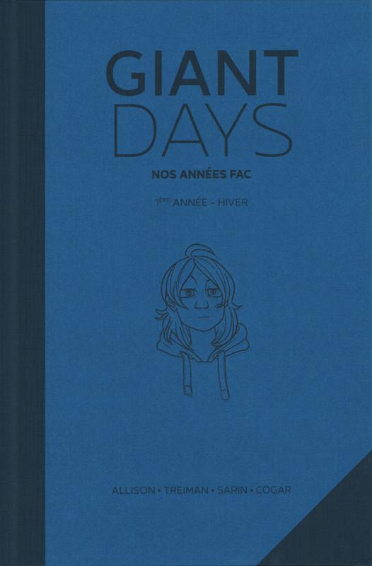Couverture de Giant Days -INT2- Nos années fac - 1ère année - Hiver