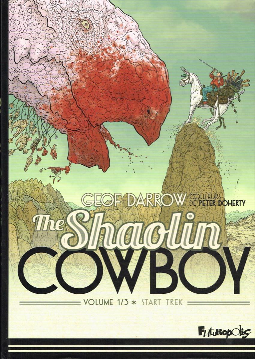 Couverture de Shaolin Cowboy (The) (Futuropolis) -1- Volume 1/3 - Start Trek