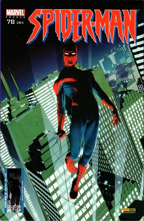 Couverture de Spider-Man (Marvel France 2e série - 2000) -76Col- La grande évasion (2)