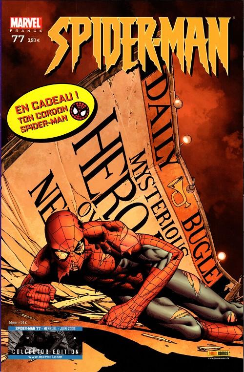 Couverture de Spider-Man (Marvel France 2e série - 2000) -77Col- La guerre de titannus (1)