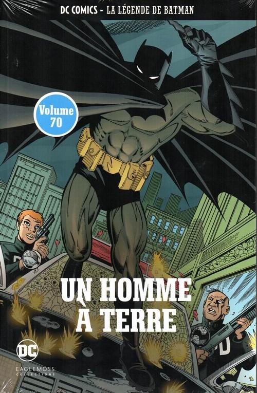 Couverture de DC Comics - La légende de Batman -70- Un homme à terre