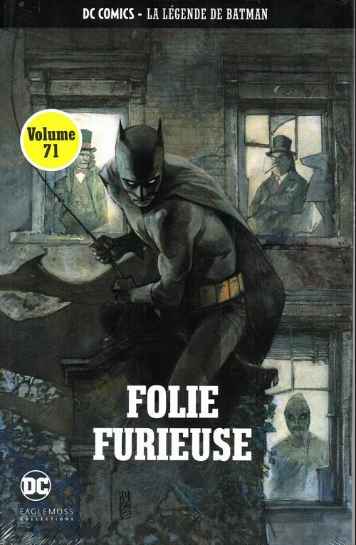 Couverture de DC Comics - La légende de Batman -71- Folie furieuse