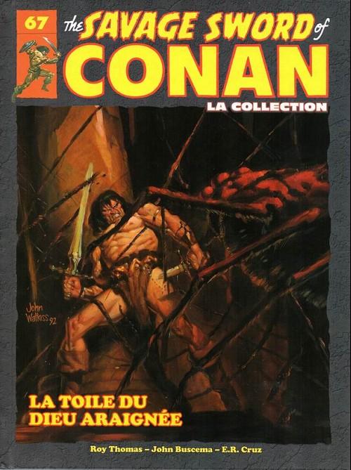 Couverture de Savage Sword of Conan (The) - La Collection (Hachette) -67- La toile du dieu araignée