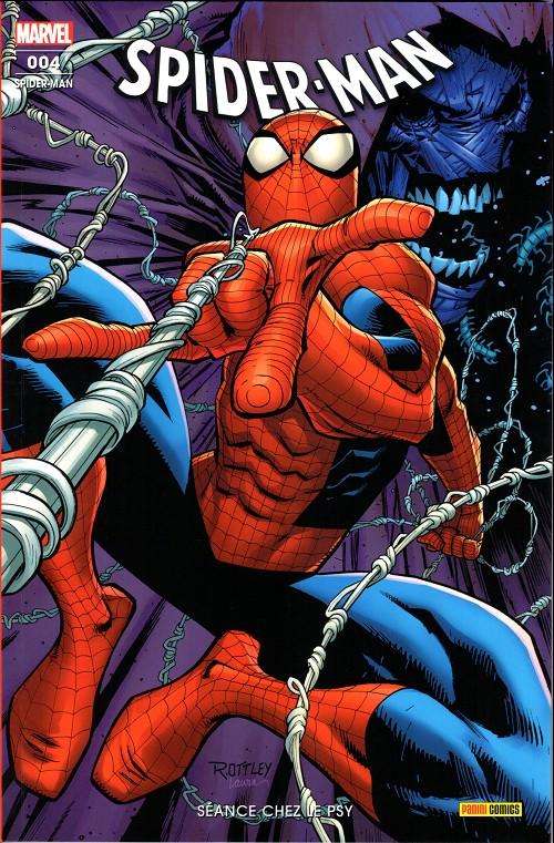 Couverture de Spider-Man (Marvel France 8e série - 2020)  -4- Séance chez le psy
