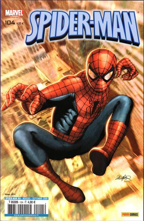 Couverture de Spider-Man (Marvel France 2e série - 2000) -104- Sous la menace de... la menace !