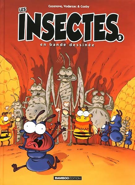 Couverture de Les insectes en bande dessinée -5- Tome 5