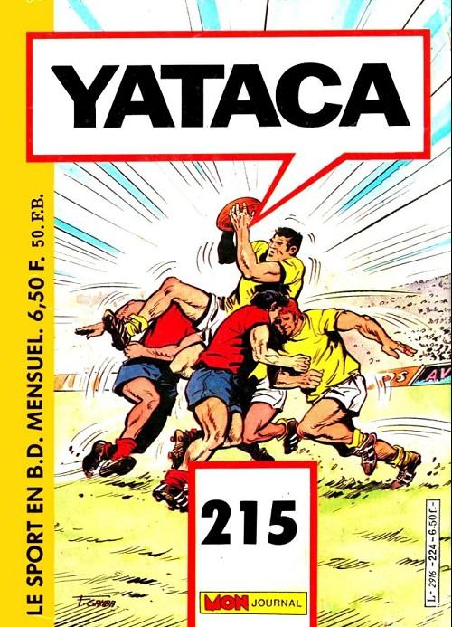 Couverture de Yataca (Fils-du-Soleil) -215- Un régime de forçats