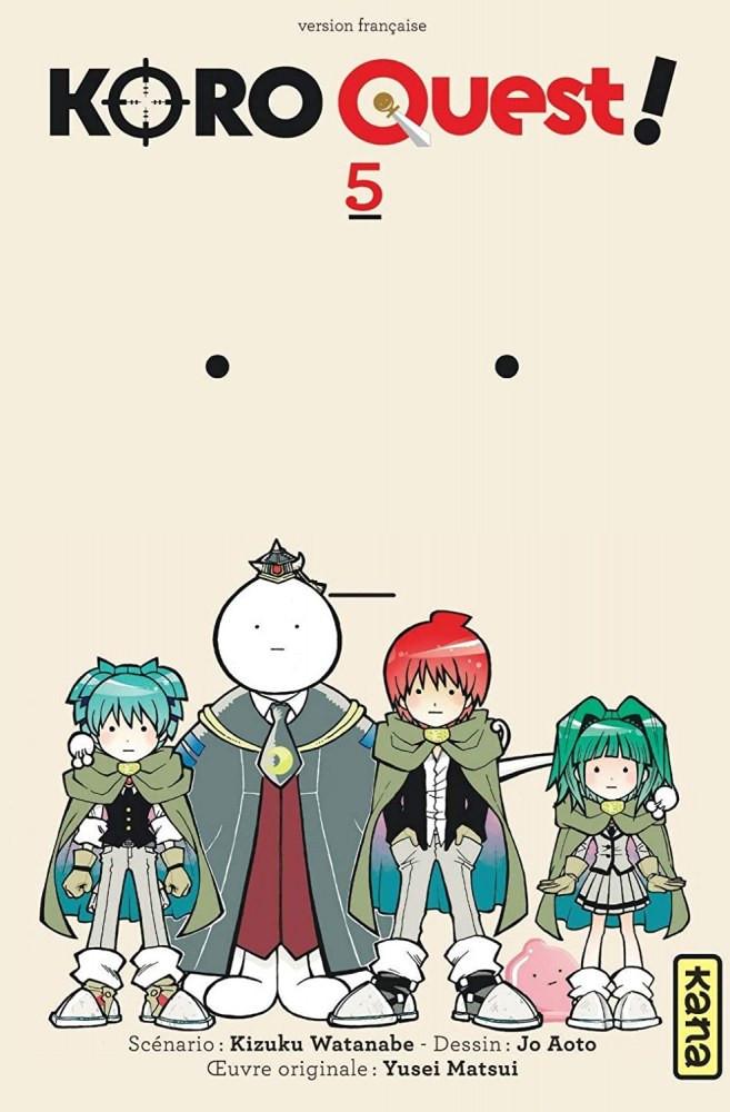 Couverture de Koro Quest! -5- Tome 5