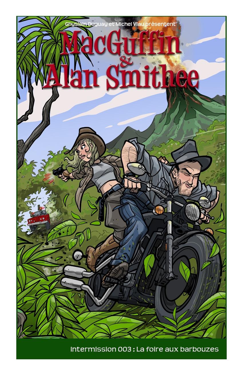 Couverture de MacGuffin & Alan Smithee -HS3- La foire aux barbouzes