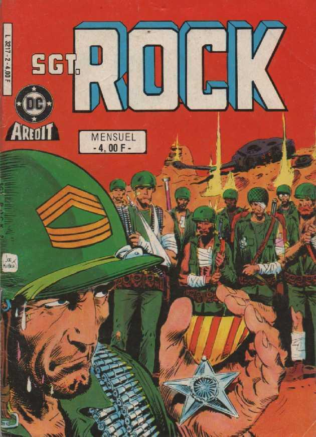 Couverture de Sgt. Rock -2- La colline du Diable