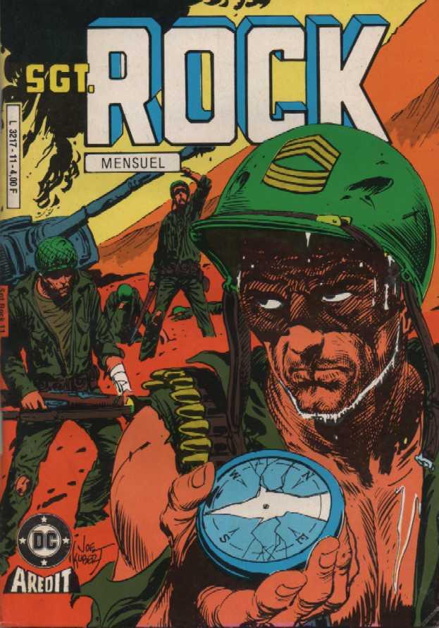 Couverture de Sgt. Rock -11-  Sauvetage