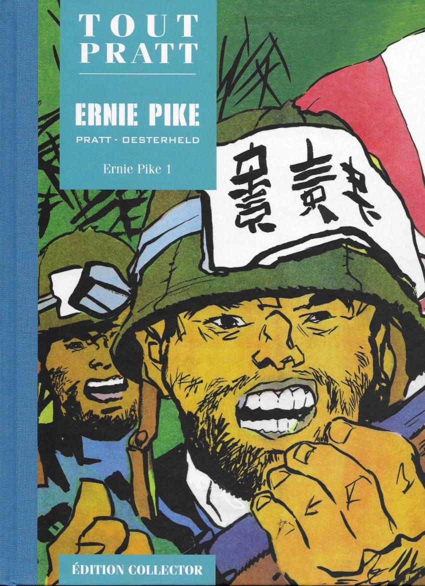 Couverture de Tout Pratt (collection Altaya) -34- Ernie Pike 1