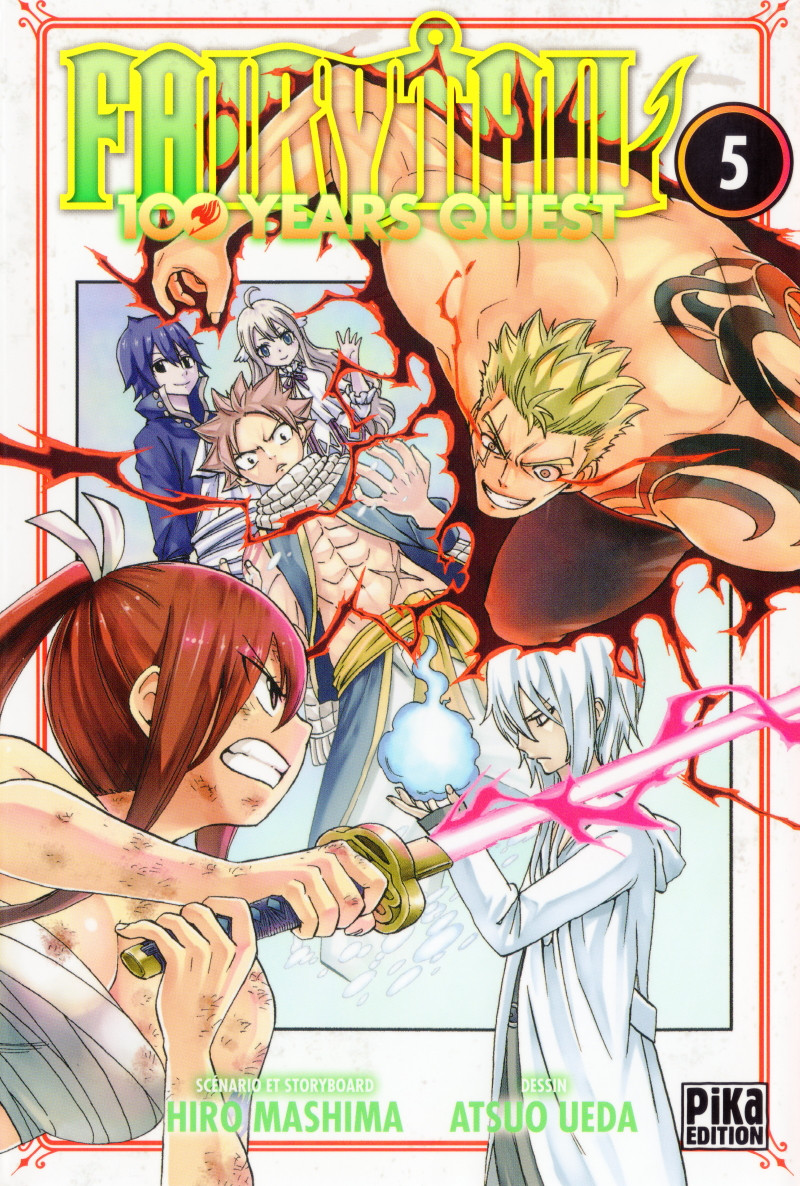 Couverture de Fairy Tail - 100 Years Quest -5- Tome 5