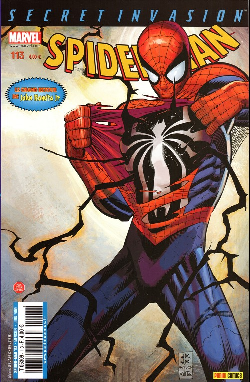 Couverture de Spider-Man (Marvel France 2e série - 2000) -113A- Phase terminale