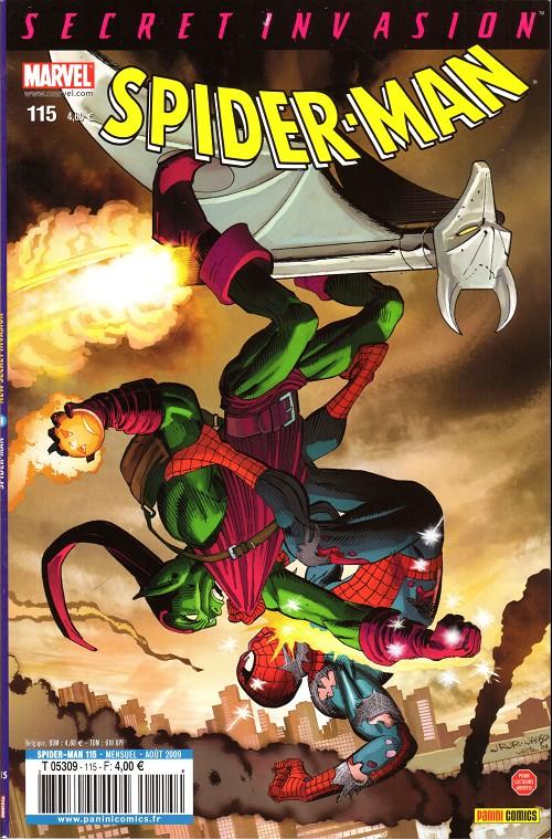 Couverture de Spider-Man (Marvel France 2e série - 2000) -115- New secret invasion